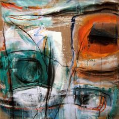 A l'air libre, 1997, 180 x 180 cm