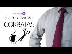 En este video tutorial, te mostramos como hacer una corbata desde los patrones hasta la confección; te decimos las opciones de tela que puedes usar y como dar un acabado fino de sastrería.Paso a paso te enseñamos cómo hacer corbatas para caballero.
