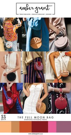 #FullMoonBag www.ambergrant.co.za #MoonBag #RoundBag #CylinderBag #Handbag #CircleHardware #MetalHandle #SS18 #SS2018 #SS19 #SS2019 #BagTrend #HandbagTrend #Trend #TrendForecaster #TrendForecasting #TrendAnalyst #TrendAnalysis #MicroTrend #MacroTrend #EmergingTrend #Accessories #Fashion #LadiesFashion #Style #StreetStyle #UrbanStyle #AmberGrant