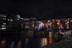 Firenze - Proiezioni su Ponte Vecchio Ph: K&M Photo Design