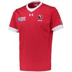 Canada RWC15 Supporters Shirt Red