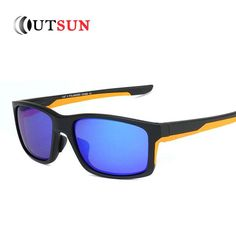 a16579cafd OUTSUN Polarized Sunglasses Men Women TR90 Brand Designer Unisex UV400  Eyewear Out Door High Quality Oculs