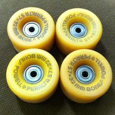 Powell Peralta Bones Set of 4 Vintage Skateboard Wheels