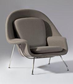 Replica Eero Saarinen 'Womb Chair' lifeinteriors $719