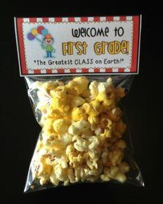 Meet the Teacher Night Goodie Bag Tags! (CircusThemed!) Print tags for all grade levels, Pre-K through 5th grade!