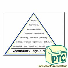 VCOP Resources - Primary Treasure Chest Teaching Activities, Teaching Ideas, Ourselves Topic, English Resources, Treasure Chest, 9 And 10, Vocabulary, Literacy, Crafts For Kids