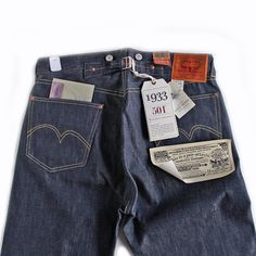 LVC (LEVI'S VINTAGE CLOTHING) - 1933 MODEL 501XX JEANS(RIGID)