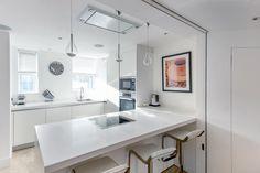 Penthouse Kitchen   JHR Interiors