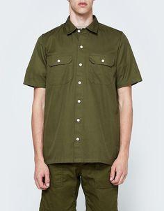 Carhartt WIP   S S Master Shirt in Rover Green 0c80227e9