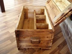 sailor's chest by laczoart on Etsy, $375.00