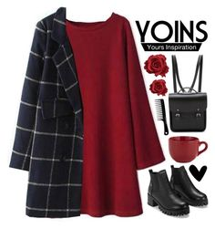 """""""Yoins 1"""" by emilypondng ❤ liked on Polyvore featuring Pier 1 Imports, The Cambridge Satchel Company, MustHave, fall2015 and yoins"""