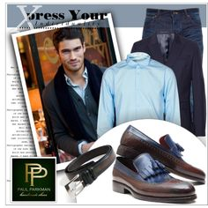 Men's Luxury Shoes and Belts by Paul Parkman by deeyanago on Polyvore featuring polyvore, fashion, style, Kiltie, Acne Studios and Snake & Dagger