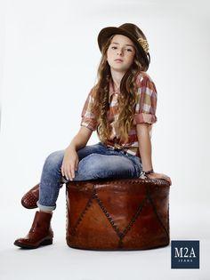 M2A Jeans | Fall Winter 2015 | Kids Collection | Outono Inverno 2015 | Coleção Infantil | calça jeans infantil feminina; look infantil; denim kids.