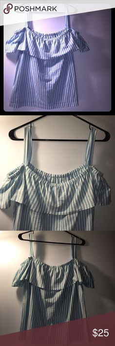 New with Tags J Crew Sleeveless Top Size Large Stripped. j crew Tops Camisoles