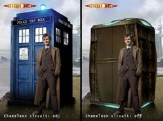 what the tardis would look like if wasnt a blue box 0-0