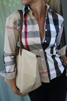 Burberry button up love