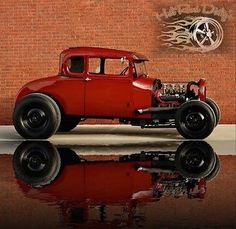 1929 Ford Model A Hot Rod Coupe Model A