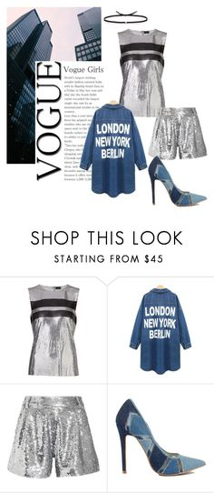 """""""Young, dumb & broke."""" by lucas-lucas-c ❤ liked on Polyvore featuring Paco Rabanne, Ashish and Ileana Makri"""