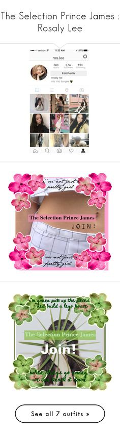 """""""The Selection Prince James : Rosaly Lee"""" by fortunem ❤ liked on Polyvore featuring Clips"""