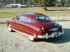 The real thing: A Hudson Hornet.