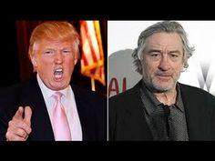 Trump Fires Back At De Niro And Destroys Him And Clinton!!