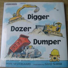 Digger, Dozer, Dumper - great truck-themed poetry book for boys!