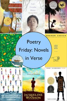 The Logonauts: Join up for Poetry Friday! Novels in Verse Poetry Books For Kids, Poetry Unit, Books For Teens, Good Books, Teen Books, Ya Books, Literature Circles, Children's Literature, Short Novels