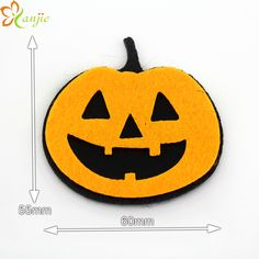 Calabazas de fieltro para Halloween Frances Speicher Pinterest