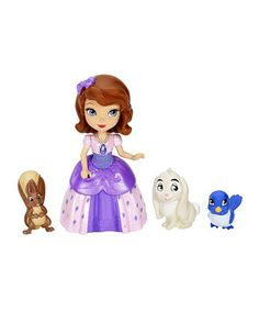 Take a look at this Sofia Doll & Animal Friends Figurine Set by Disney on #zulily today!