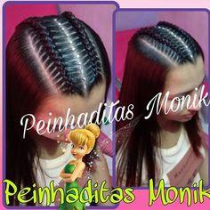Resultado de imagen para peinados monik Teenage Hairstyles, Baby Girl Hairstyles, Braided Hairstyles, Cool Hairstyles, Little Girl Braids, Girls Braids, Long Hair Designs, Twist Ponytail, Creative Hairstyles