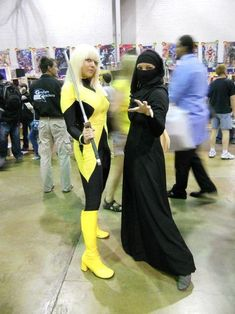 X-Men: Dust Hijabi Cosplayers - Faith & Fun! Epic Cosplay, Cosplay Girls, Cosplay Costumes, Cosplay Ideas, Costume Ideas, Hijab Niqab, Halloween 2, Tumblr Photography, Muslim Women