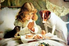 """""""Suspense"""" by Charles Burton Barber, I have this in my livingroom, as an antique print, inheritad of my great grandparents. I love this romantic style!"""