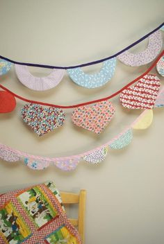 Garland Galore - also from Craftsy. Very fun - love banners and garlands and I love when someone changes the shape ! Cool.
