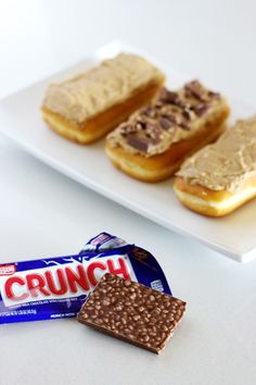BYU football is in full swing, and I whipped up my own semi-homemade tailgating treats with the help of Nestlé® Crunch®.