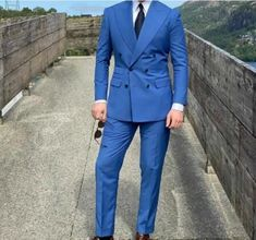 Royal Blue Wedding Tuxedos Groom Suits For Men 2021 Wedding Groom Suit For Men (Jacket +Pants+Tie ) Business plus size Blue Tuxedo Wedding, Wedding Groom, Wedding Tuxedos, Mens Suits, Groom Suits, Royal Blue Suit, Plus Size Suits, Cheap Suits, Biker Girl