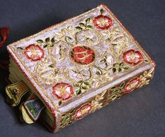 Embroidered book by Annie Morris 1930s