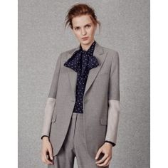 Flannel Longline Blazer