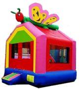 Hungry caterpillar bounce house