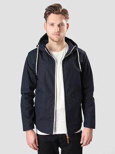 Contrast Short Jacket Navy 7351