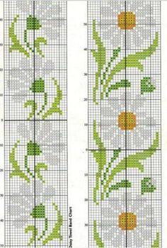 Cross Stitch Bookmarks, Cross Stitch Borders, Cross Stitch Flowers, Cross Stitch Charts, Cross Stitch Designs, Cross Stitching, Cross Stitch Embroidery, Cross Stitch Patterns, Cross Art
