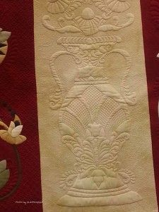 Pretty detailed quilting