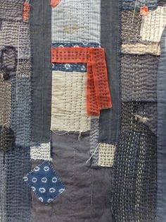 sashiko and other stitching