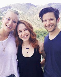 Kaley Cuoco reunited with her 8 Simple Rules costars Amy Davidson and Martin Spanjers on the one-year anniversary of TV grandpa James Garner's death