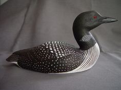 Amazing Hand Carved Bird and Painted Wood Duck Appreciate the works - 漫琦鸟雕文化