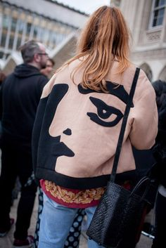 cool They Are Wearing: London Fashion Week Fall 2016 Photos by http://www.globalfashionista.xyz/london-fashion-weeks/they-are-wearing-london-fashion-week-fall-2016-photos-3/