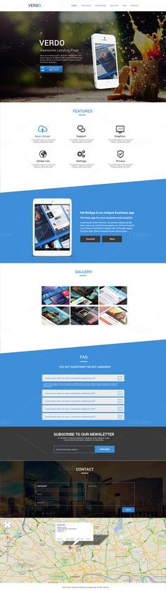 Check out Verdo - Creative Landing Page by IPGoods on Creative Market