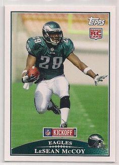 2009 Topps Kickoff LeSean McCoy Rookie card # 132 Eagles!!!!! START-$0.59