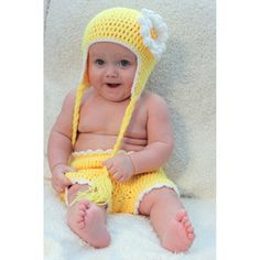 @Overstock - This crocheted 2-piece sunshine sunflower outfit is a one of a kind beanie and diaper set from Sugarbaby that will look adorable on your little one. This baby set is soft and gentle to the touch, and is perfect for that special photo op.http://www.overstock.com/Baby/Sugarbaby-Sunshine-Sunflower-Crocheted-Beanie-and-Diaper-Set/7585278/product.html?CID=214117 $22.49