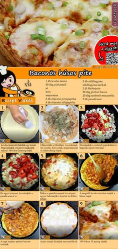 Bacon-Fleisch-Pie Rezept mit Video - Rezeptideen/ Kochrezepte Bacon meat pie recipe with video recipes tasty Crockpot Recipes For Kids, Chicken Recipes For Kids, Healthy Chicken Recipes, Meat Recipes, Cooking Recipes, Cooking Ideas, Drink Recipes, Bacon Meat, Tasty
