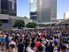 The Occupy Central Movement is in full swing as protestors ram the streets of Hong Kong's busiest business district – forcing riot police to pull back. Reports state that pro-democracy demonstrations by students and activists in the financial hub have caused disruption in the country's economic epicentre.